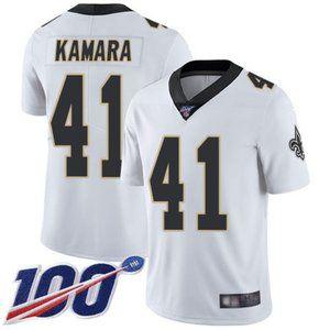 Saints Alvin Kamara 100th Season Jersey 2
